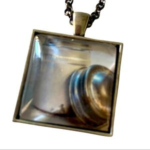 Necklace retro kitchen canister